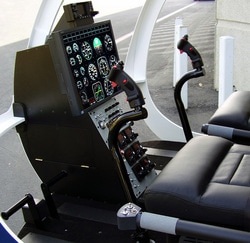 Platinum Simulators Professional Helicopter SImulator Cockpit